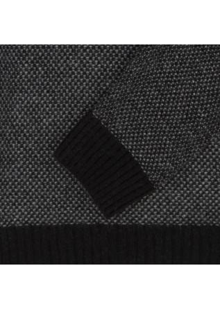 MEN'S SWEATER WOOL & CO | WO 0235 BLACK GREY