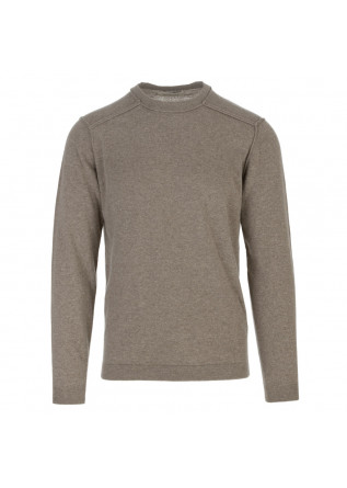 maglione uomo wool and co beige taupe