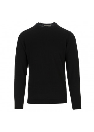 mens sweater wool and co black