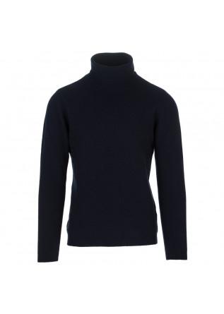 herrenpullover wool and co blau