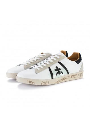 mens sneakers premiata andy white black