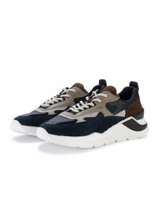 mens sneakers date fuga dandy blue brown