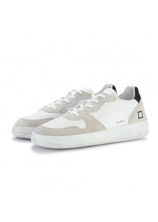 mens sneakers date court vintage white