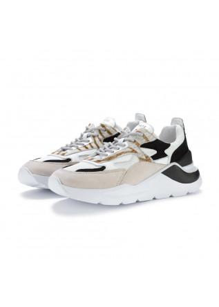 sneakers donna date fuga animalier zebra beige