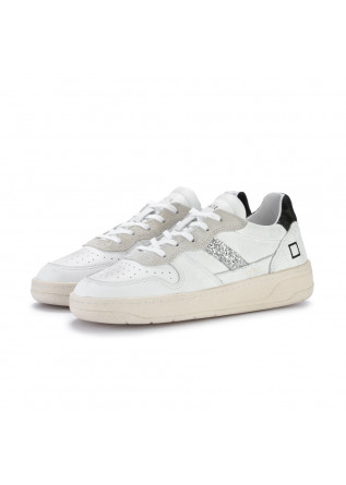 womens sneakers date court pop white leo