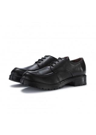 scarpe allacciate donna manovia52 milled nero