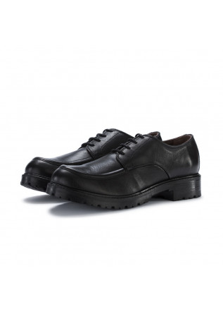 womens lace up shoes manovia52 milled black