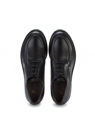 WOMEN'S LACE-UP SHOES MANOVIA 52 | MILLED BLACK