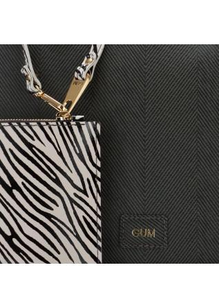 WOMEN'S SHOULDER BAG GUM CHIARINI | NEVER END TOTE BLACK GREEN
