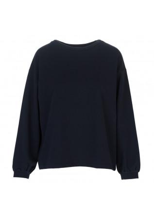 womens sweatshirt bioneuma ponza cin blue