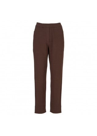 pantaloni donna bioneuma marsala marrone