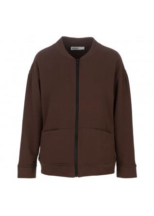 womens sweatshirt bioneuma monza brown