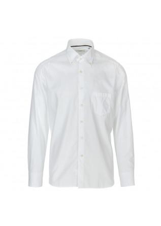 camicia uomo tintoria mattei 954 bianco