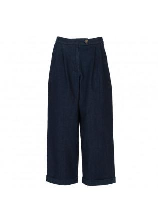 womens trousers bioneuma marettima denim blue