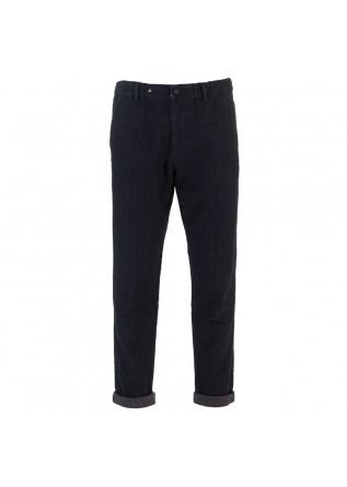 mens trousers masons eisenhower nobuckle blue