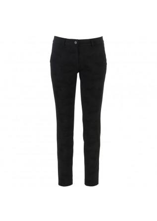 womens trousers masons newyorkslim black camouflage