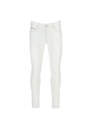 jeans uomo care label denver bianco