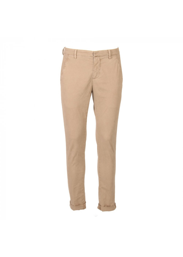CLOTHING TROUSERS BEIGE DOUNDUP
