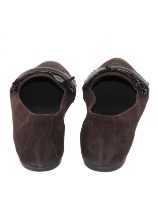 WOMEN'S SHOES FLAT SHOES BROWN KUDETA'