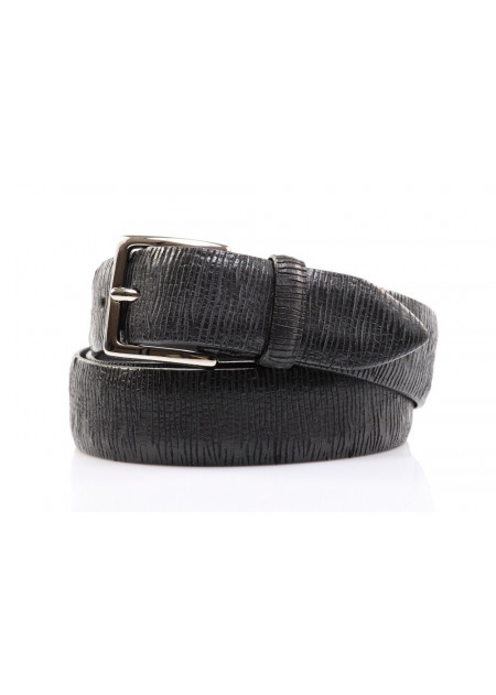 MEN'S ACESSORIES BELTS BLACK ORCIANI