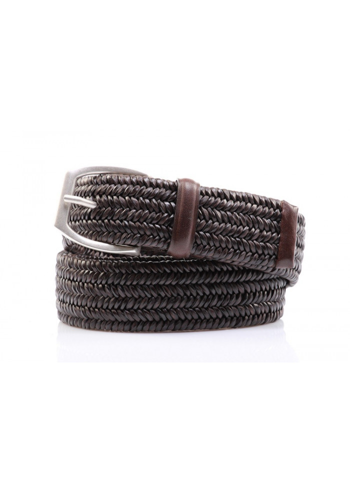 MEN'S ACCESSORIES BELT DARK BROWN ORCIANI