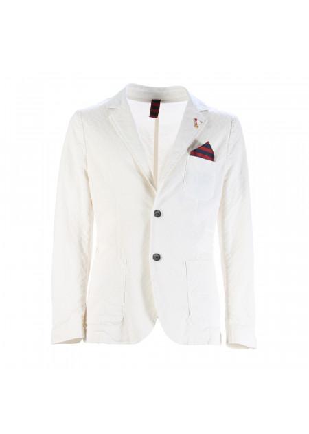 MEN'S CLOTHING JACKETS WHITE INDIVIDUAL