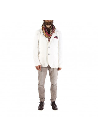 MEN'S CLOTHING JACKETS WHITE INDIVIDUAL
