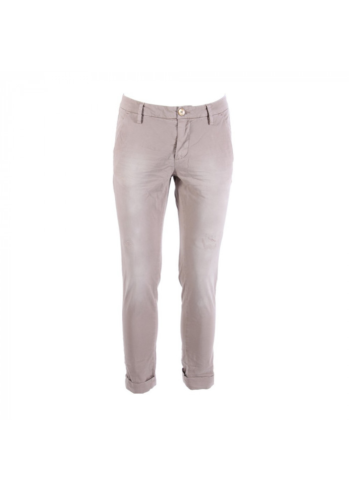 CLOTHING TROUSERS BEIGE AGLINI