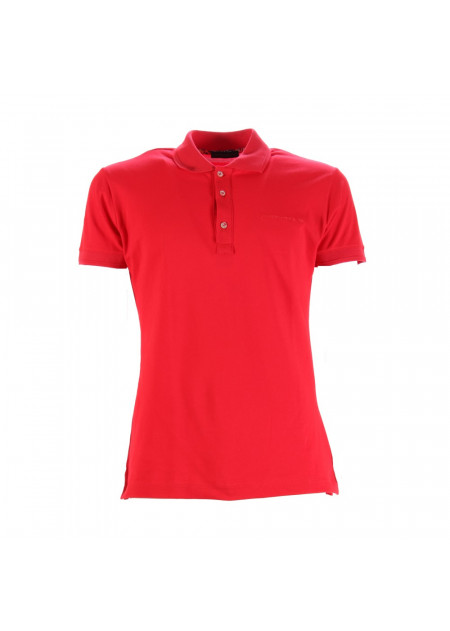 MEN'S CLOTHING POLOS RED ALESSANDRO DELL'ACQUA