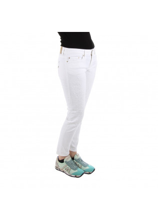 CLOTHING JEANS WHITE DOUNDUP