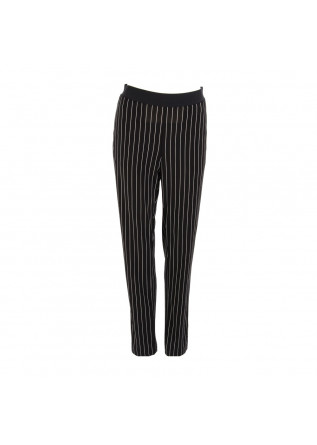 WOMEN'S CLOTHING TROUSERS CHINO BLACK KUBERA 108