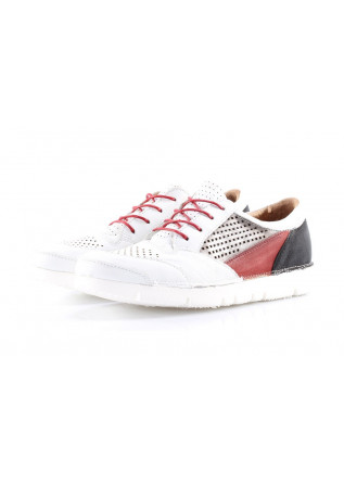 MEN'S SHOES SNEAKERS WHITE/BLACK MJUS