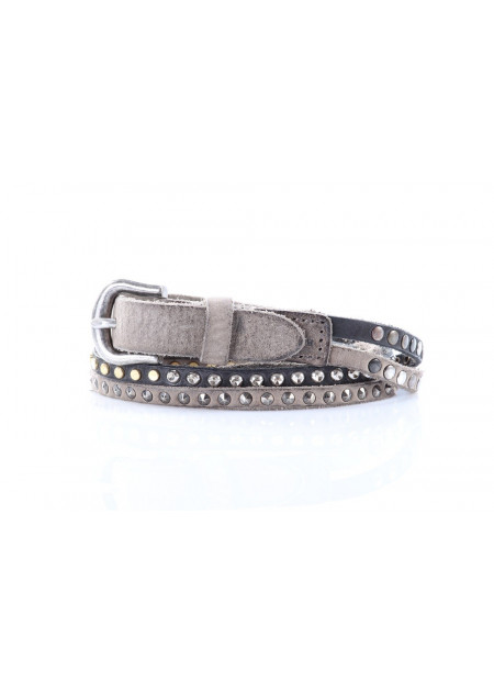 WOMEN'S ACCESSORIES GUMP BELTS GREY MINORONZONI1953