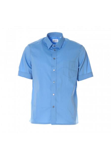 MEN'S CLOTHING SHIRT LIGHT BLUE HOSIO
