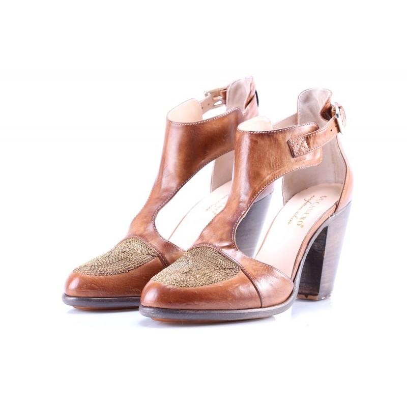 Top dcollet Scarpe da Donna Tacco Alto TSpange 2597 BLU CHIARO 40