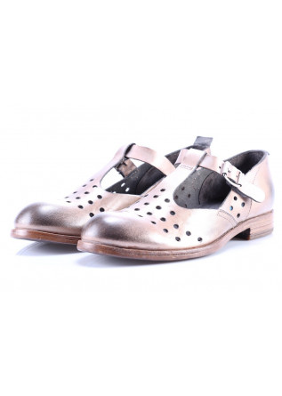 WOMEN'S SHOES FLAT SHOES BEIGE MOMA