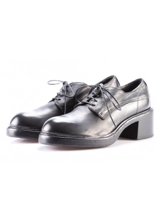 WOMEN'S SHOES LACE-UP BLACK MOMA