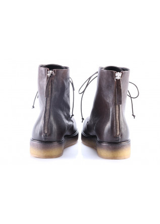 WOMEN'S SHOES BOOTS BROWN HALMANERA