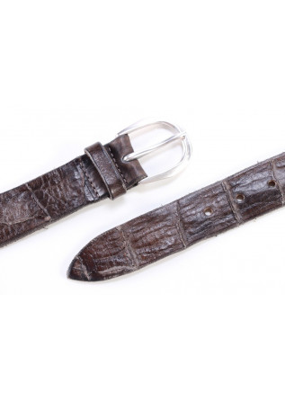 MEN'S ACCESSORIES BELT HANDMADE GREY ORCIANI