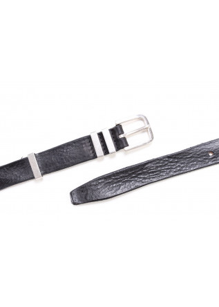 MEN'S ACCESSORIES BELT HANDMADE BLACK STEEL ORCIANI
