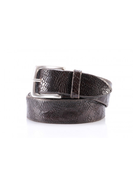MEN´S ACCESSORIES BELT DARK BROWN ORCIANI U0 7596
