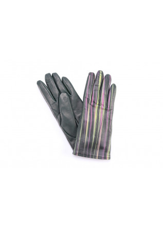 WOMEN'S ACCESSORIES GLOVES GREEN 5 FINGERS