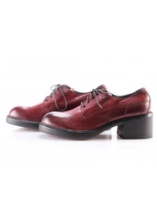 WOMEN'S LACE-UP HEEL SHOES MOMA | ORLANDO CHILE RED