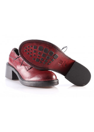 WOMEN'S SHOES LACE-UP RED MOMA