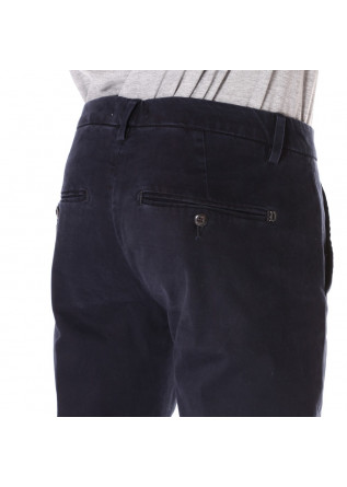 MEN'S CLOTHING TROUSERS BLUE DONDUP