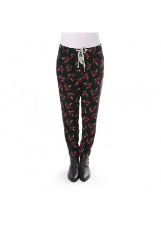 WOMEN'S CLOTHING TROUSERS BLACK SOALLURE