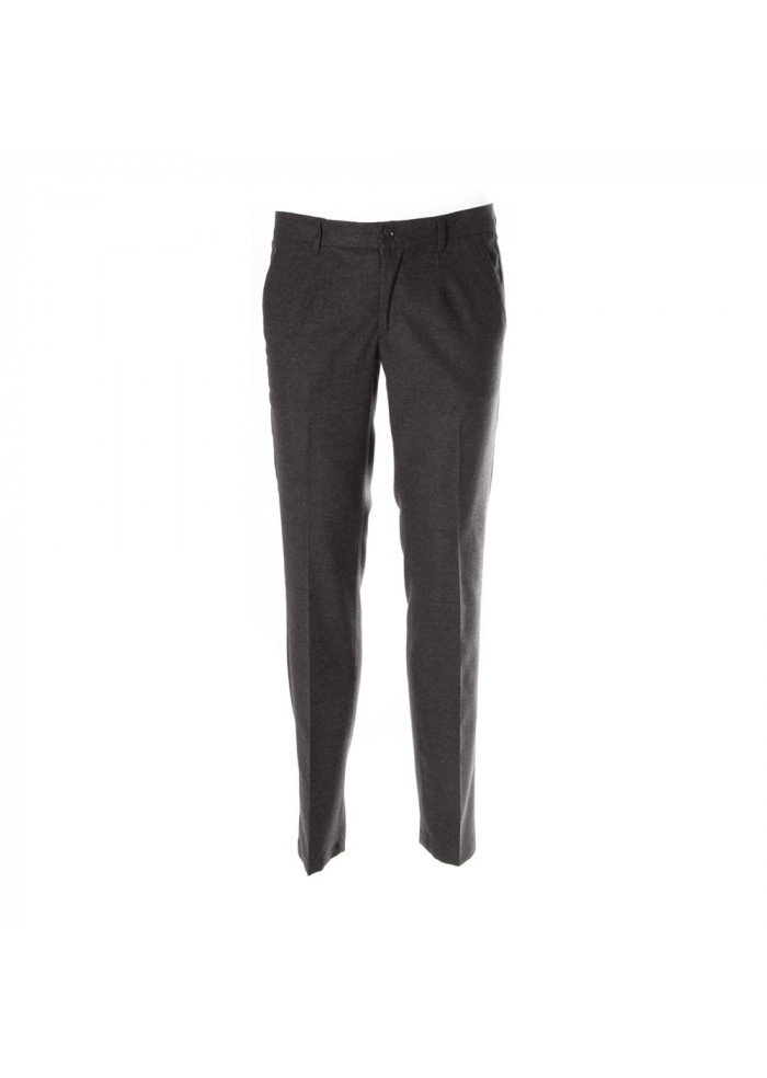 CLOTHING TROUSERS GREY ALESSANDRO DELL'ACQUA