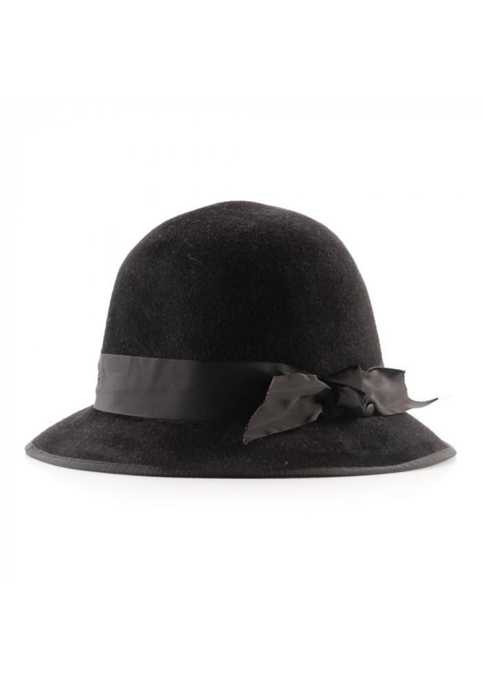 ACCESSORIES HATS BLACK PATRIZIA FABRI