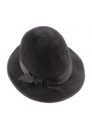 WOMEN'S ACCESSORIES  HATS BLACK PATRIZIA FABRI