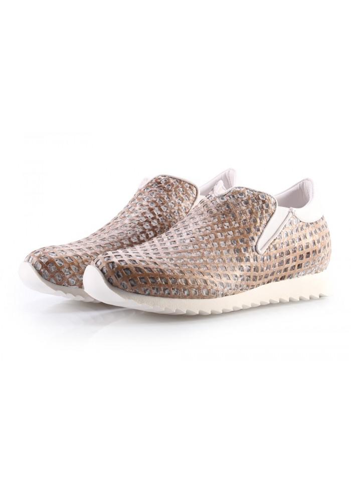 Scarpe Donna Sneakers Beige ANDIAFORA